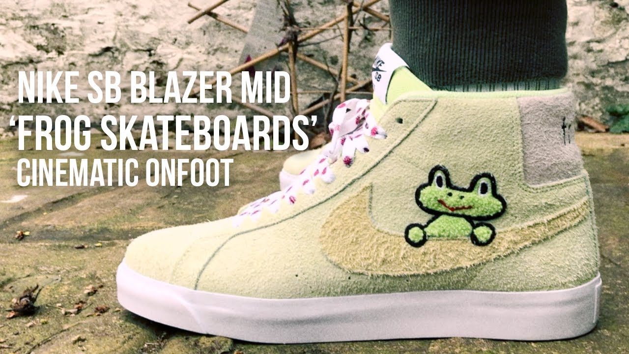 online store premium selection official supplier BEST BLAZER YET? Frog Skateboards x Nike SB Blazer Cinematic On-foot Review