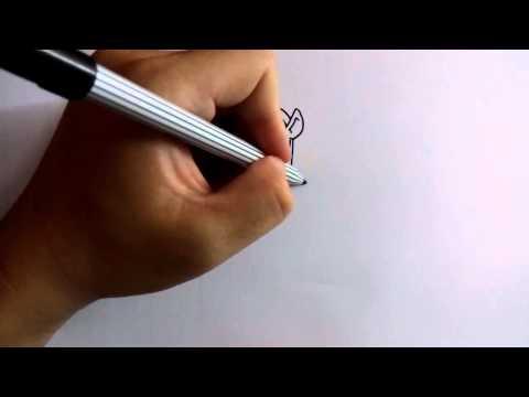 วาดการ์ตูนกันเถอะ สอนวาดการ์ตูน เจ้าหญิง แก้วหน้าม้า ง่ายๆ หัดวาดตามได้
