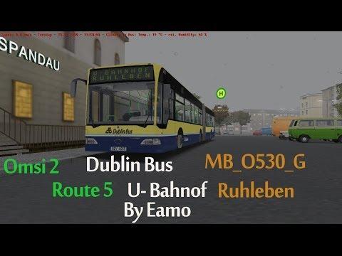 Omsi 2 Berlin Spandau Route 5 U- Bahnof Ruhleben MB_O530_G