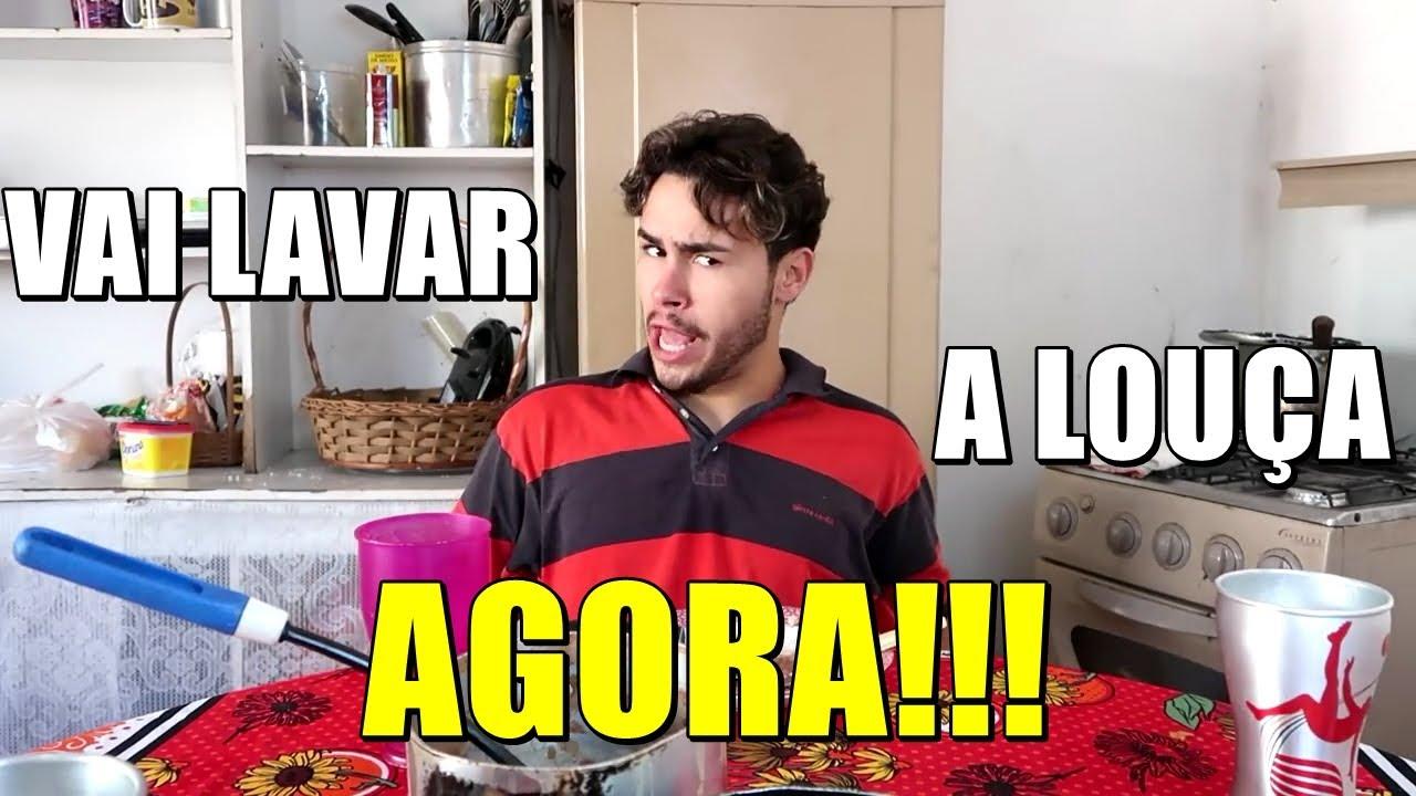 A VIDA DE MARIVALDA - Marivalda não quer lavar a louça sozinha #1