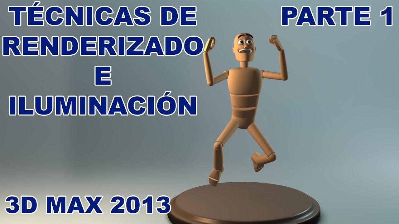 T cnicas de renderizado e iluminaci n en 3d max 2013 for Habitaciones 3d max gratis