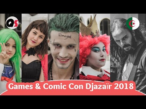 Games & Comic Con Djazaïr 2018 | Metal Concert | by Quesera