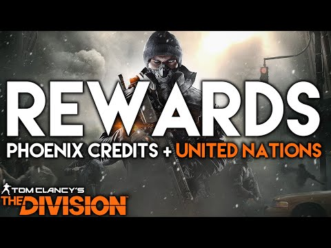 The Division | Ubisoft Club Rewards, Phoenix Credits Talk & United Nations Playable Area