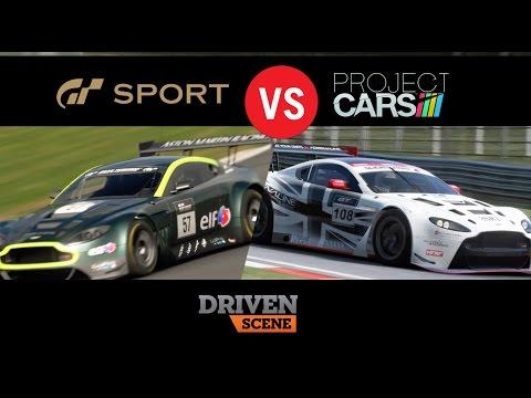 Gran Turismo Sport VS Project Cars
