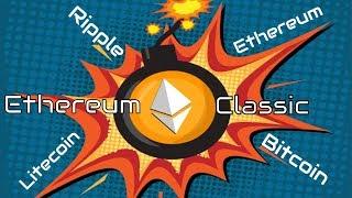 Kuri Kriptovaliuta pirma šaus į viršų? - Bitcoin, Ethereum, Litecoin, Ripple, Ethereum Classic