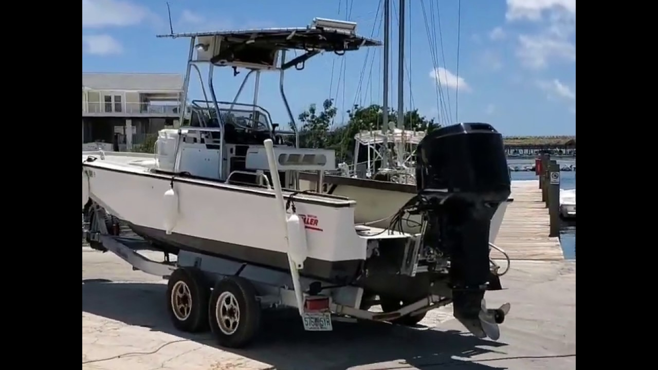 Repowered My 22' Boston Whaler Outrage Dive Boat- Mercury 250 EFI
