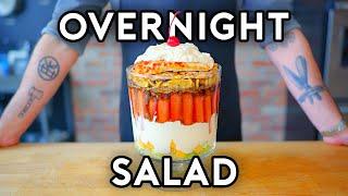 Overnight Salad from SNL   Binging with Babish
