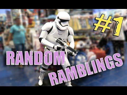 RANDOM RAMBLINGS #1 - EARL OF SANDWICH UK & DISNEY STORE