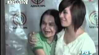 THE BUZZ  - Ang Tunay na Ina ni Angeline Quinto