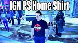 Free IGN Shirt on Playstation Home - PlayStation Conversation