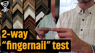 How To Detect A Two Way Mirror (2018) Fingernail Test