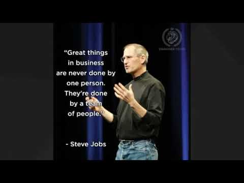 Download Steve Jobs Teamwork & Success