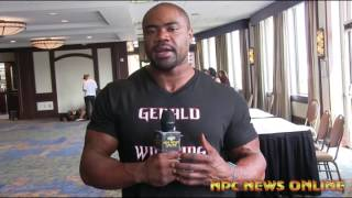 ifbb pro bodybuilder gerald williams life outside bodybuilding