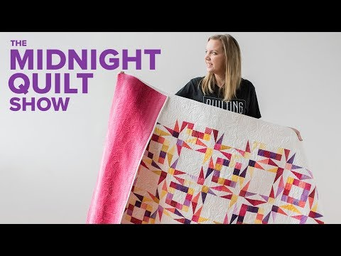 Ombre Twinkling Twilight Star Quilt (NO FPP!) | Midnight Quilt Show with Angela Walters