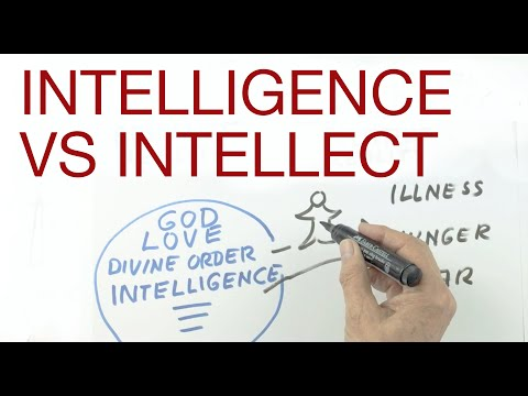 INTELLIGENCE vs INTELLECT  explained by Hans Wilhelm