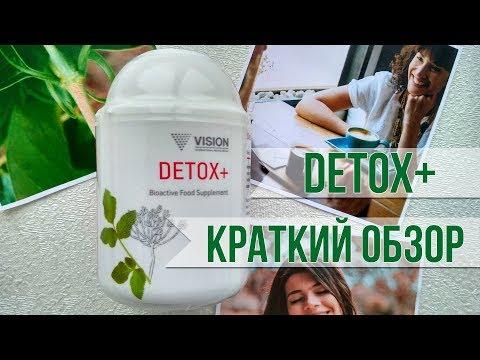 Детокс+ (Detox+) от Vision. Краткий обзор.