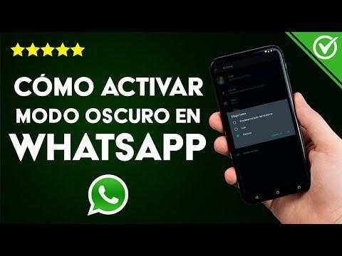 Cómo Activar el Modo Oscuro de WhatsApp en iPhone y Android Fácilmente