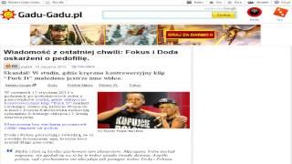 Fokus i Doda zamieszani w pedofilie (Gadu-Gadu.pl)