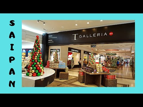 SAIPAN, the DFS Galleria shopping mall (Northern Mariana Islands, Pacific Ocean)