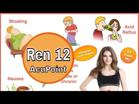 Acupuncture point REN 12