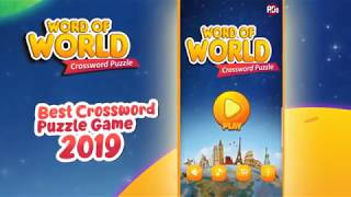 Word of World - Crossword Puzzle Game Free