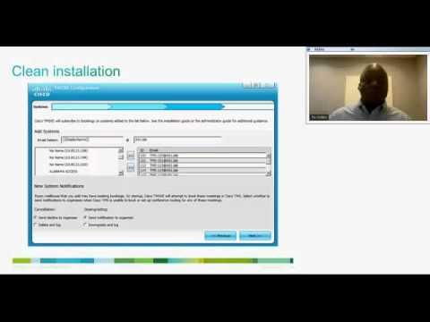 Cisco TelePresence Management Suite Extension for Microsoft Exchange (TMSXE  3 0) [Webcast]