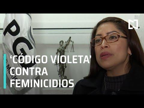 Prevenir Feminicidios la misión del programa 'Código Violeta' - Las Noticias