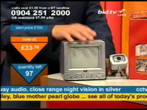 Andy Hodgson sells CCTV on Bid TV