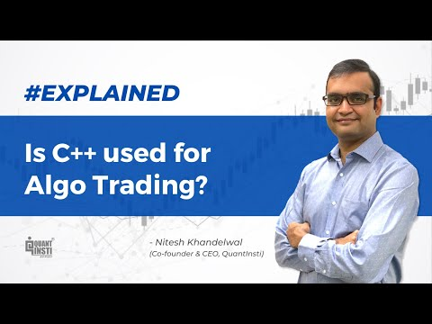 Is C++ used for Algo Trading? #AlgoTradingAMA