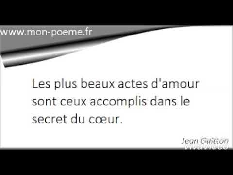 Texte Oral Ton Amour Pour Lui