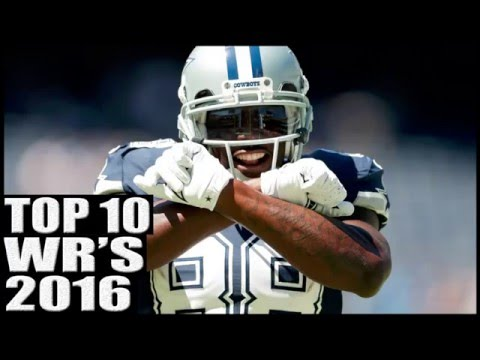 Top 10 Wide Receivers 2016
