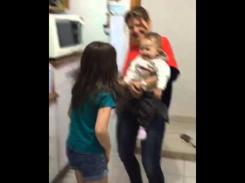 Sophia,sua prima Olivia e sua titia renata!!!
