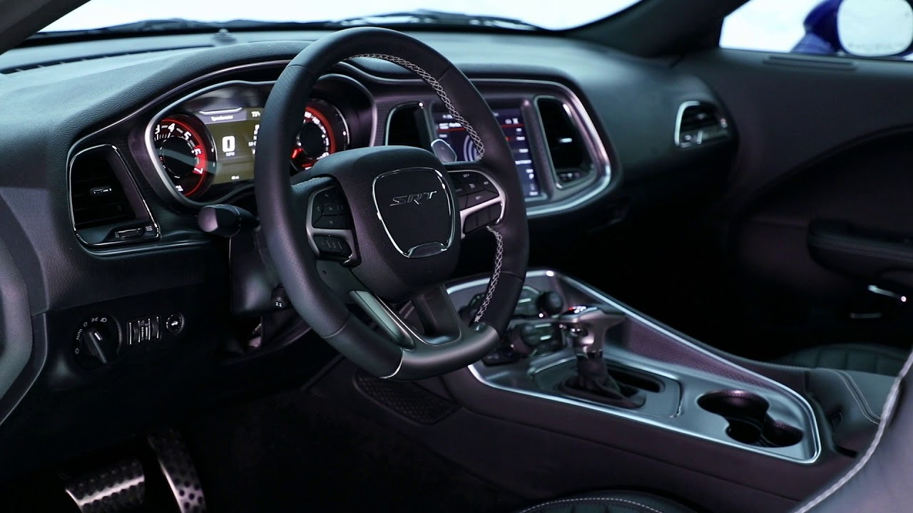 2019 Dodge Challenger Interiors Youtube