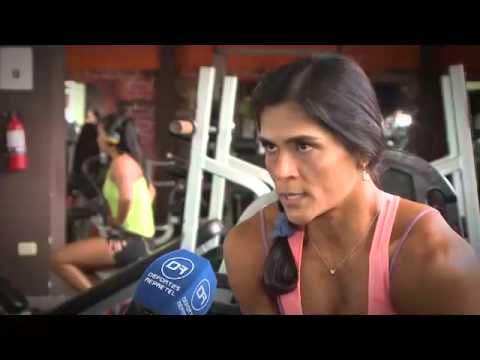 Una periodista es la nueva campeona del Fitness del área