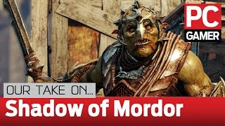 Middle-earth: Shadow Of Mordor gameplay — first impressions
