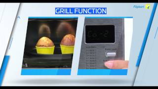 Godrej GMX 20CA6PLZ 20 L Convection Microwave Oven Review Video