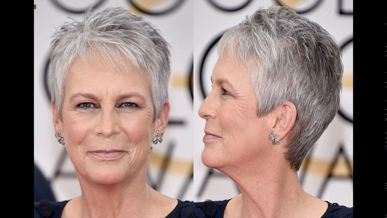 Jamie Lee Curtis Short Haircut Style Youtube