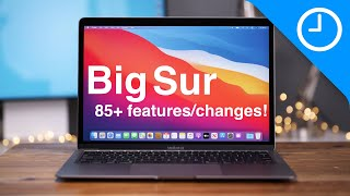 macOS Big Sur beta - 85+ Top Features/Changes!