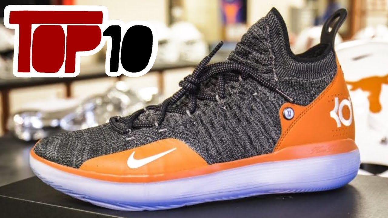 3a5446b44102 Top 10 Nike KD 11 Shoes Of 2019 - YouTube