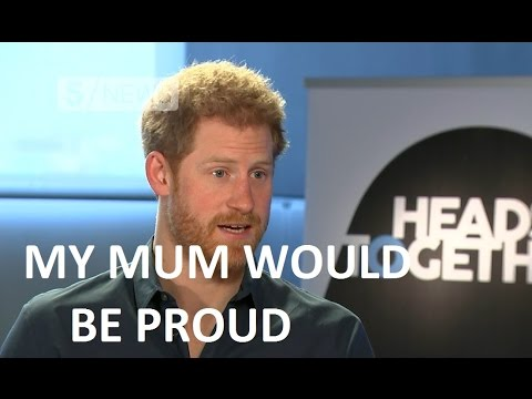 "Prince Harry: My mother would be ""incredibly proud"" of our mental health campaign"