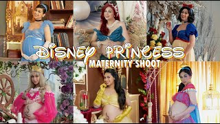 DISNEY PRINCESS MATERNITY SHOOT | ZEINAB HARAKE