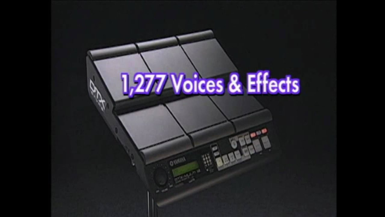 yamaha dtx multi 12 introduction youtube