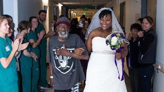 Dying Dad Walks Bride Down the Aisle in Surprise Hospital Wedding thumbnail
