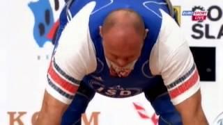 Мужчины +105 кг Толчок ЧМ-2013