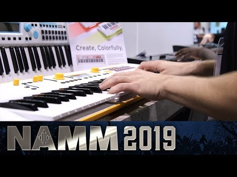 Korg Kross - The Definitive Entry Level Workstation - NAMM 2019