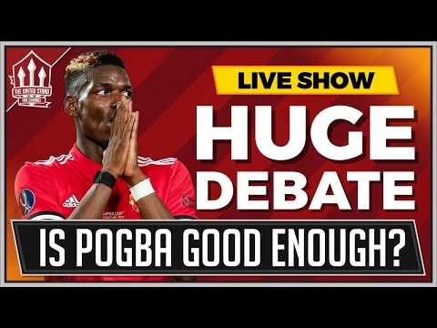Pogba Not Happy at Mourinho's Manchester United