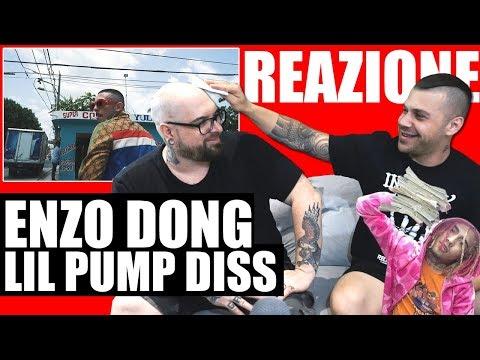 ENZO DONG DISSA LIL PUMP - GUCCI RUBATE | RAP REACTION 2018