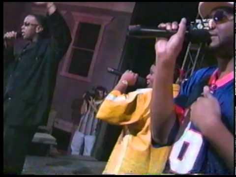 Missy, Timberland & Magoo - Up Jumps Da' Boogie & The Rain (LIVE) 1997