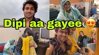 She is back with her chapar chapar 😂 | Ammi welcomes her bahu with her fav food | Mujhe bhool gayee