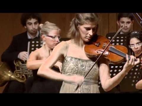 Bruch violin concerto 3rd mov - Lilia Donkova, Maestro Peter Tiboris